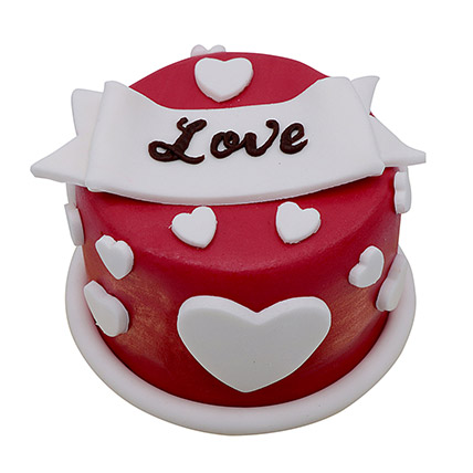 Special Love Cake For Valentines Day: Valentine Cake
