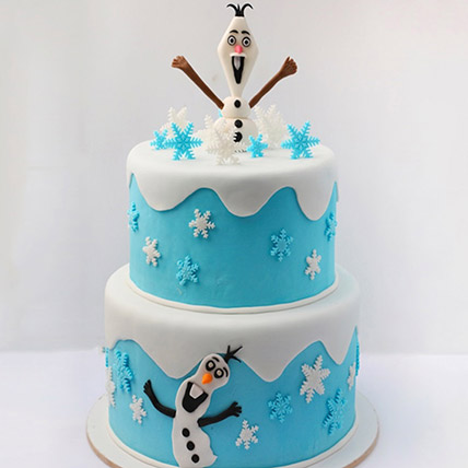 Olaf The Snowman Cake 5 Kg: Frozen Cake