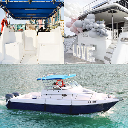 ASFAR 1 Boat With Balloon Decor Online: Party Supplies to Sharjah