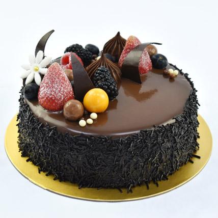 4 Portion Fudge Cake: Chocolate Cakes