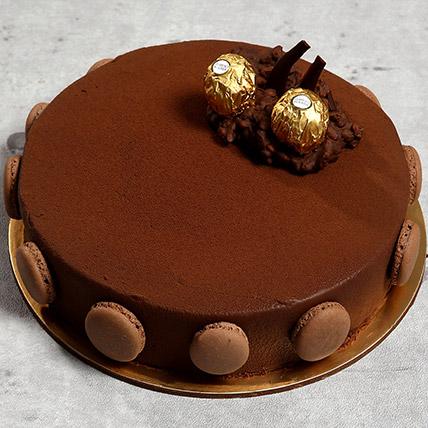 Ferrero Rocher Cake: Farewell Gifts
