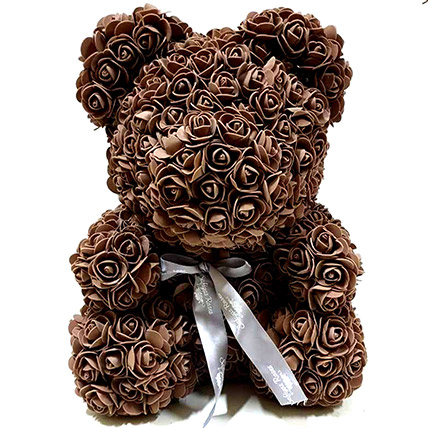 Artificial Brown Roses Teddy: Unique Gifts