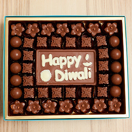 Happy Diwali Limited Edition Chocolate Box: Diwali Chocolate