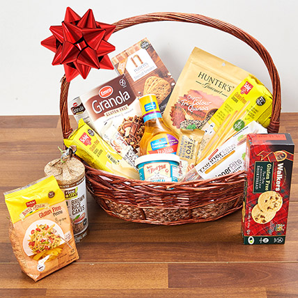 Healthy Gluten Free Basket: Bakery and Snacks