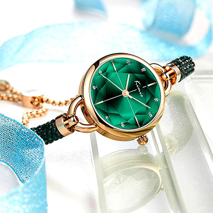 KIMIO Shining Green Watch: Accessories