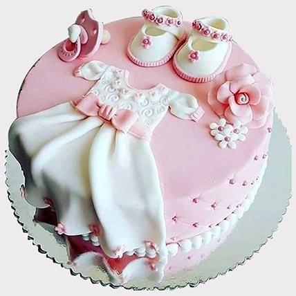 Baby Shower Fondant Cake: Baby Shower Cakes