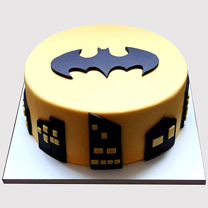 Batman Logo Cake: Batman Cakes
