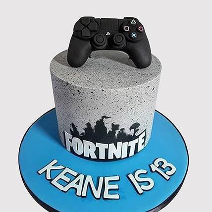 Fortnite Gamers Cake: Birthday Cakes for Boys/Girls