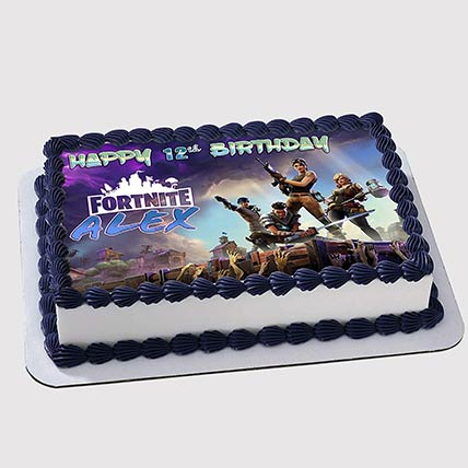 Fortnite Photo Cake: Fortnite Cakes