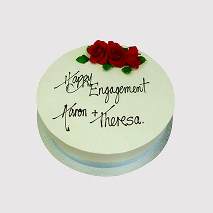 Happy Engagement Cake: Engagement Cakes