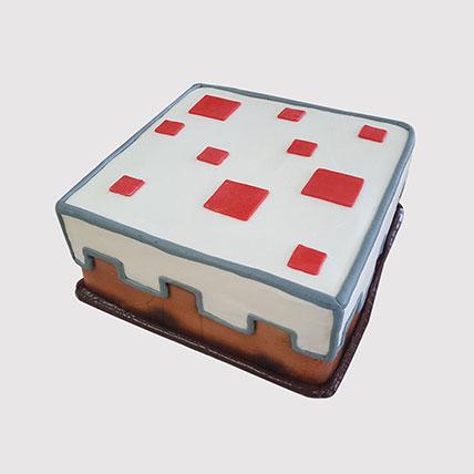 Minecraft Red Stones Cake: Minecraft Cake