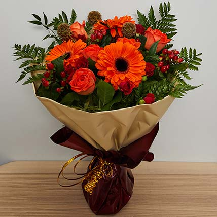 Adorable Flower Bouquet: Chinese New-year Gifts