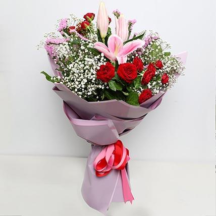 Enchanting Flower Bouquet: Onam Flowers