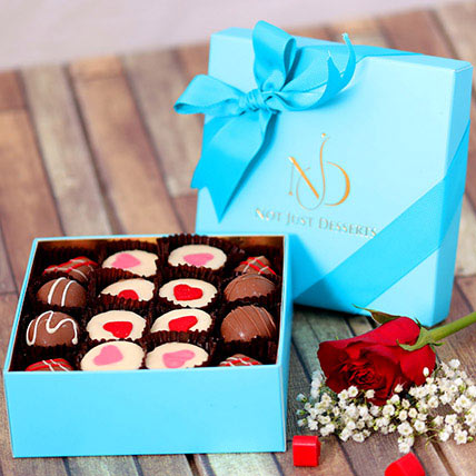 Valentines Truffles and bites: Propose Day Gifts