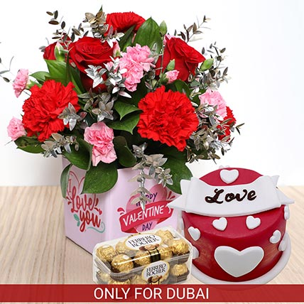 Fabulous Trio: Valentine Day Gift for Wife