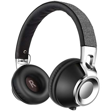 Black N Grey Bluetooth Headphone: Electronics Accessories
