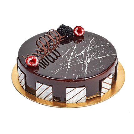 Chocolate Truffle Birthday Cake: Cakes Delivery in Umm Al Quwain