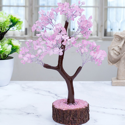Rose Quartz Wish Tree: