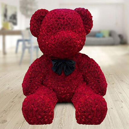 1000 Red Roses Teddy: Christmas Gifts for Her