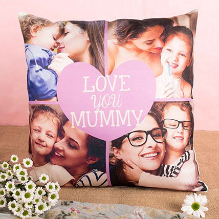 Love You Mummy Personalised Cushion: Personalised Cushions