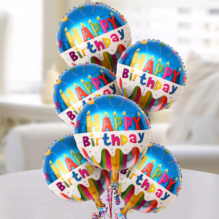Happy Birthday Foil Balloons: Birthday Gifts to Sharjah