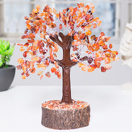Handcrafted Agate Stone Wish Tree: Wish Trees