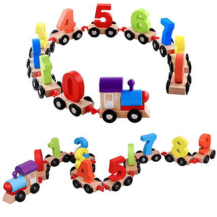 Digital Toy Train: Toys for Kids