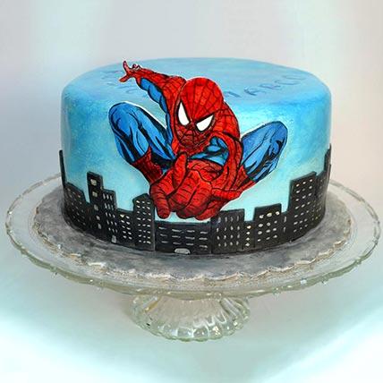 Spiderman Designer Cake: Spiderman Cakes