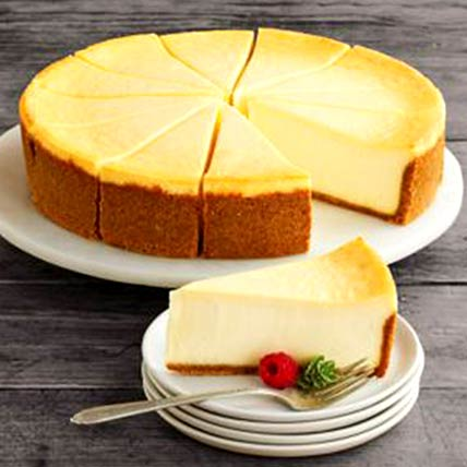 Frozen New York Cheesecake: Cakes Delivery in Abu Dhabi