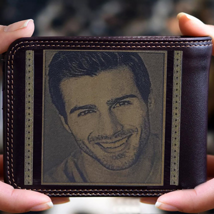 Personalised Mens Wallet With Photo: Personalised Gifts to Fujairah