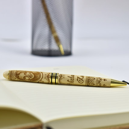 Photo Personalisation Wooden Pen: Personalized Gifts for Birthday