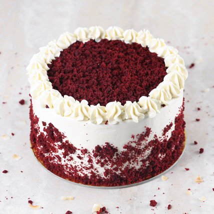 Creamy Red Velvet Cake:  Eggless Cake Delivery