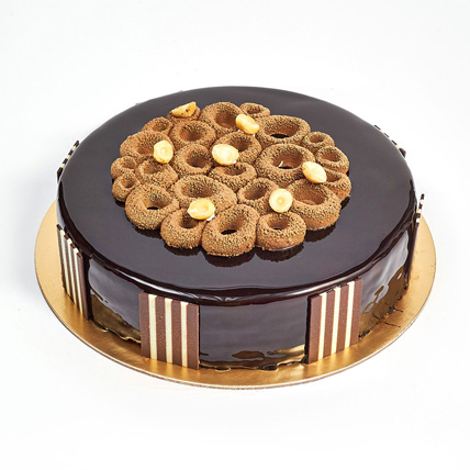 Crunchy Chocolate Hazelnut Cake: Cakes Delivery in Ajman
