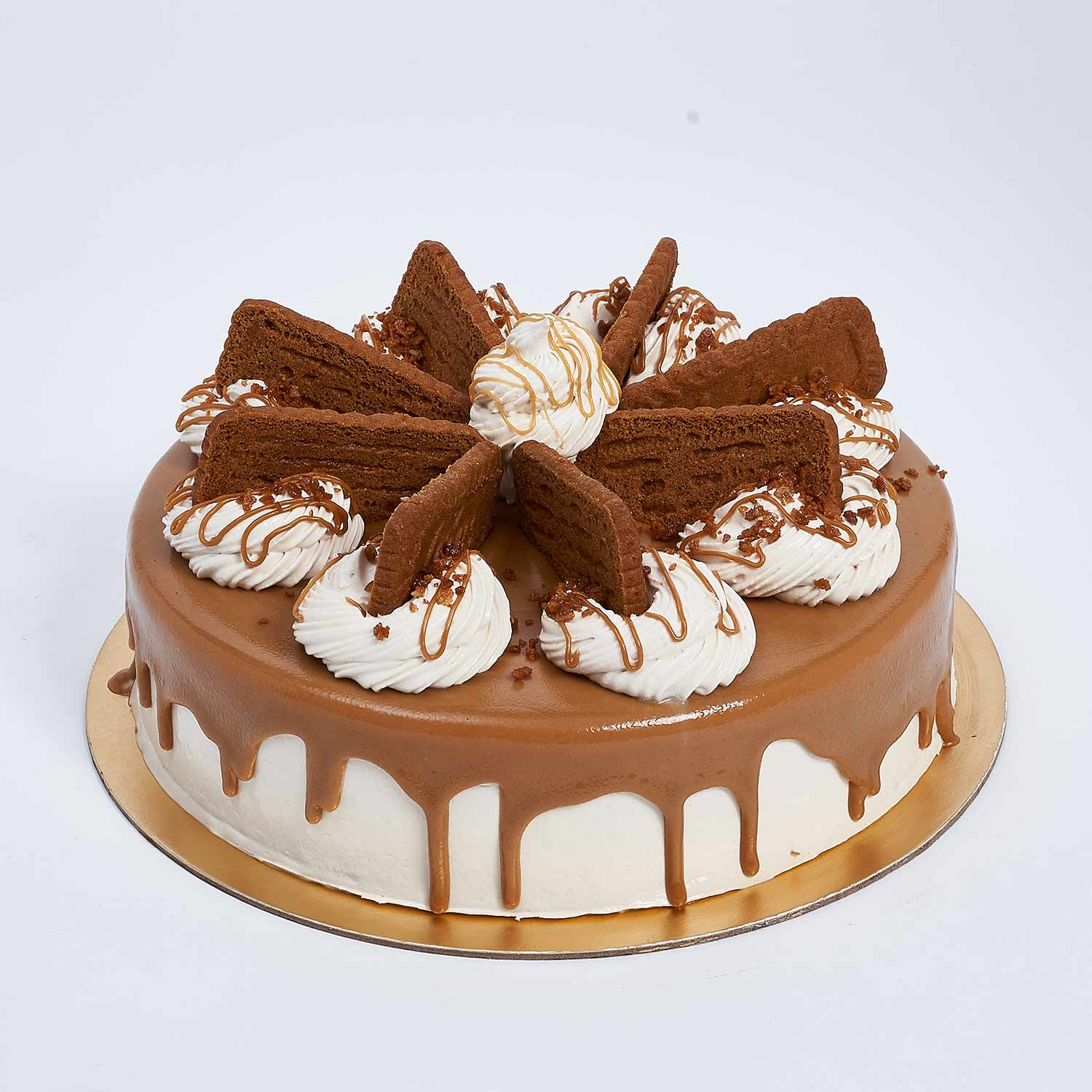 Heavenly Lotus Biscoff Cake: Cakes Delivery in Ajman