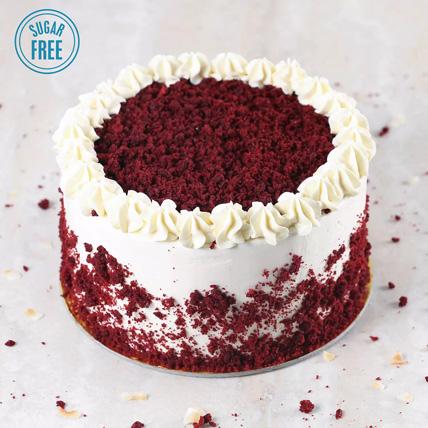 Sugar Free Red Velvet Cake: Red Velvet Cake