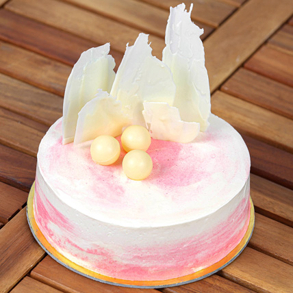 Sweet & Delicious Vanilla Cake:  Eggless Cake Delivery