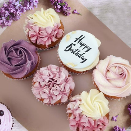 Yummy Cupcakes:  Birthday Cakes for Husband