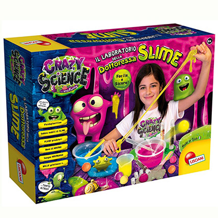 Female Doctor Slime Science Laboratory: Educational Games