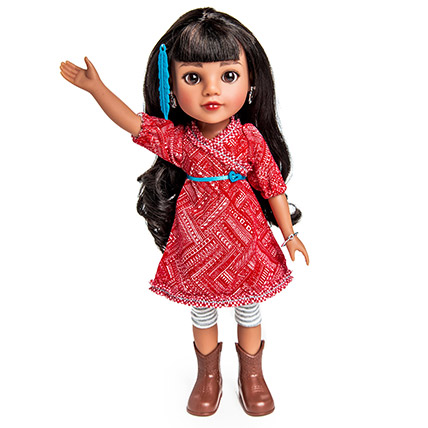 Mosi From Native American Doll: Dolls