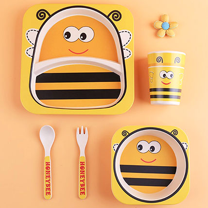 Honey Bee Tableware Set: Back to School Gifts
