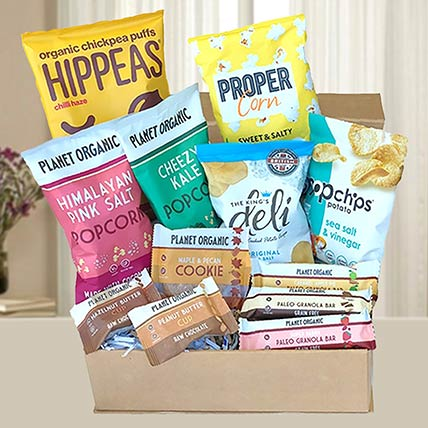 Gourmet Healthy Snack Hamper: Gift Hampers