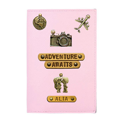 Personalised Adventure Awaits Passport Cover: Travel Accessories