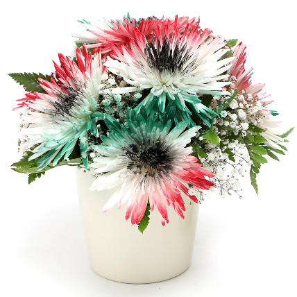 UAE Flag Flower Arrangement: UAE National Day Gifts