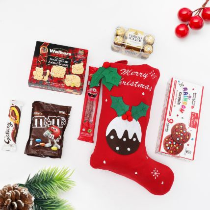 Christmas Delights in Stocking: