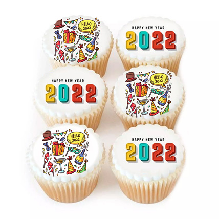 2021 Cup Cakes: New Year Cake