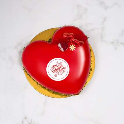 You Have Taken My Heart: Valentines Day Cake