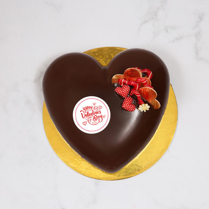 You R My Perfect Crazy One: Valentines Day Cake