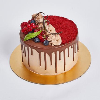 Chocolaty Red Velvet Cake: Cake Delivery in Fujairah