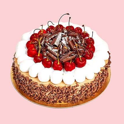 4 Portion Blackforest Cake: Half Kg Cakes