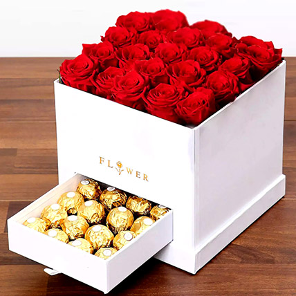 Classic Red Roses Arrangement: New Arrival Gifts